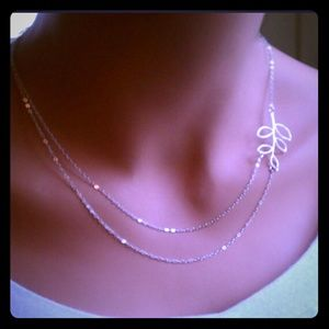 Two strand floral Necklace